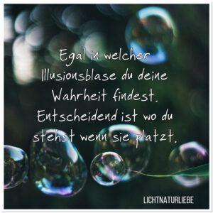 Illusionsblase platzt